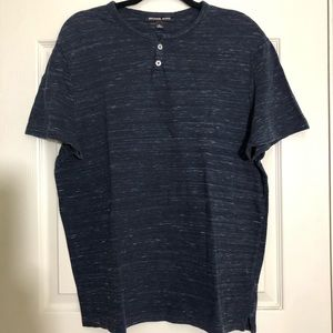 Men's Michael Kors Short Sleeve Shirt Size XL